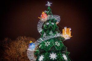 елка с подарками верхушка